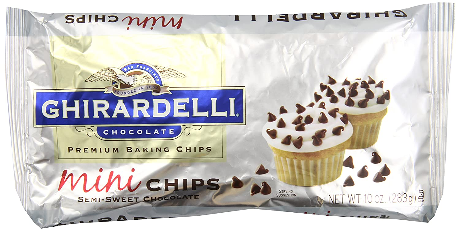 Amazon.com : Ghirardelli Chocolate Baking Mini Chips, Semi-Sweet ...