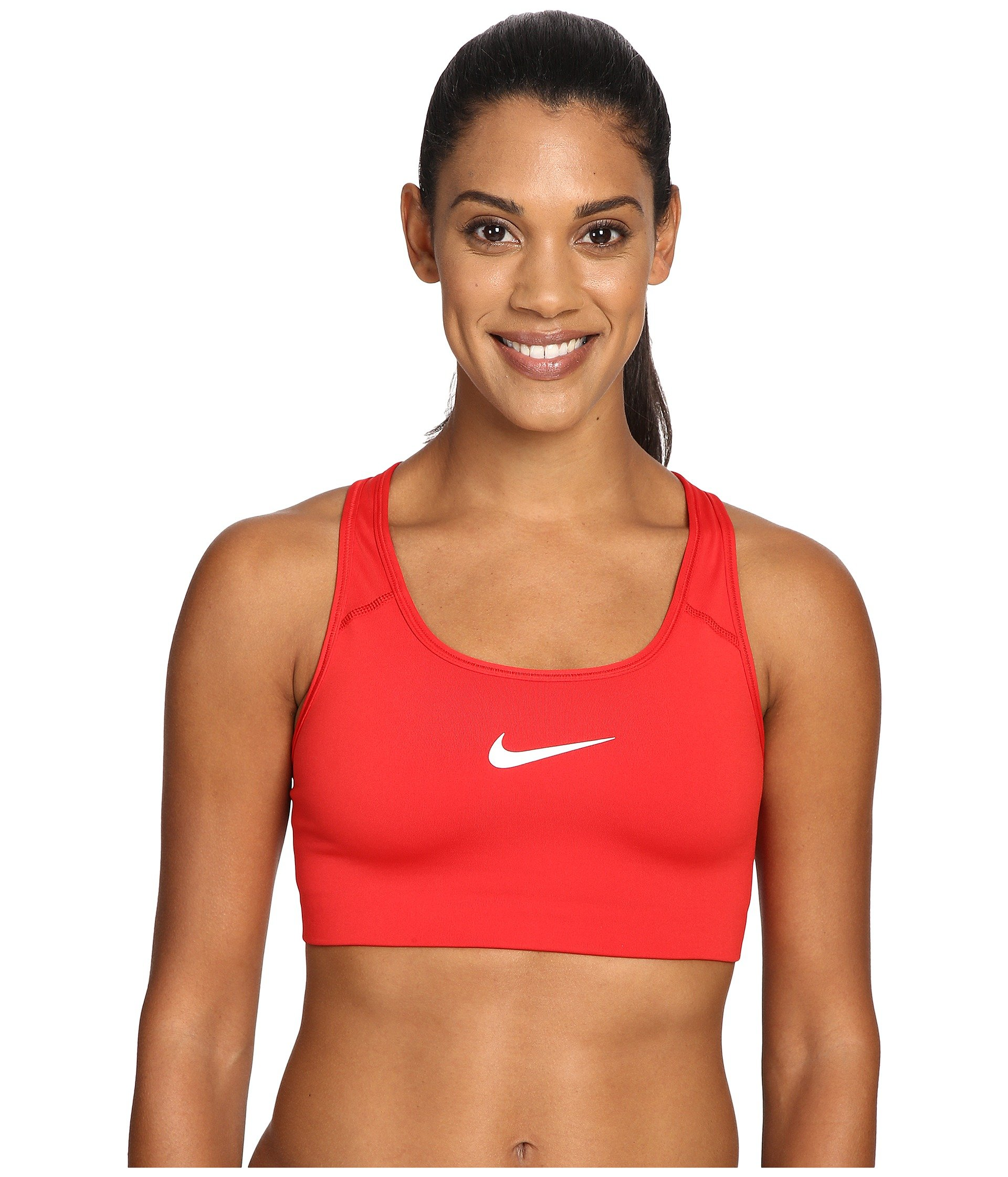 Nike Wom Pro Classic Swoosh Bra SM Red by Nike