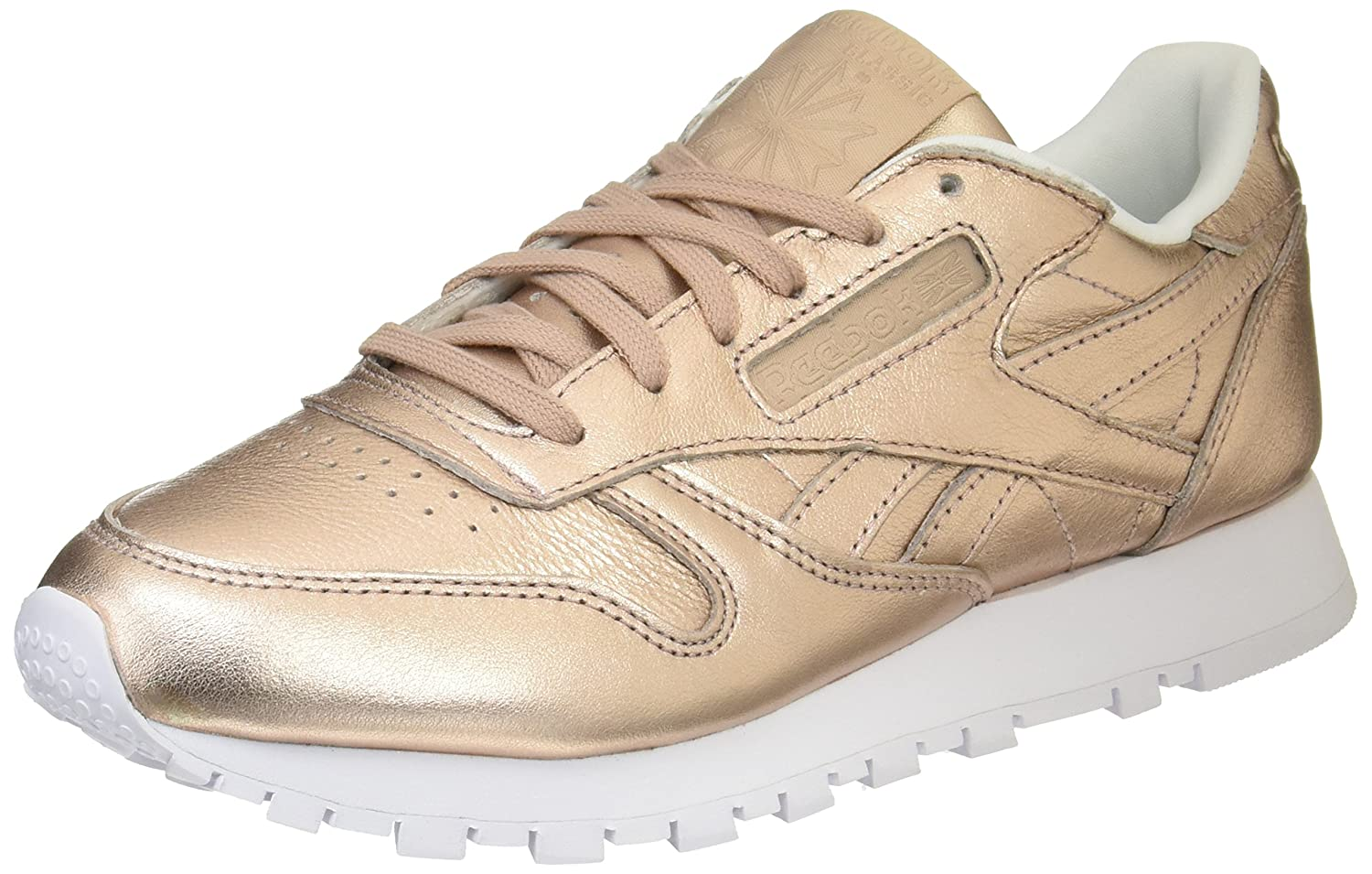 brand new 442d2 6fe13 Amazon.com   Reebok Classic Melted Metal Pearl Womens Trainers   Fashion  Sneakers