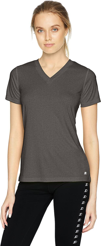 Starter Women's Short Sleeve TRAINING-TECH T-Shirt,  Exclusive: Clothing