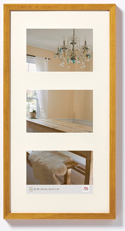 Walther design BP315E Peppers Galerie Bilderrahmen, Holz, 3X 10x15 ...