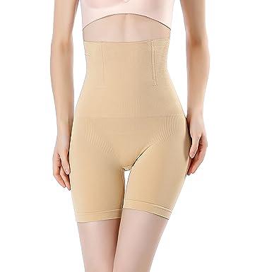 a1c0825710 MUKATU High Waist Tummy Control Panties Body Shaper Thigh Slimmer Shapewear  for Women  Amazon.co.uk  Clothing