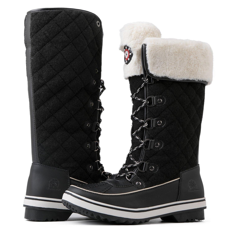 Global Win GLOBALWIN Women's 1730 Winter Snow Boots GW-W1730