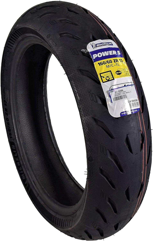 180//55ZR17 Rear Michelin Pilot Power 5 Radial Sport Bike Motorcycle Tire 180//55-17
