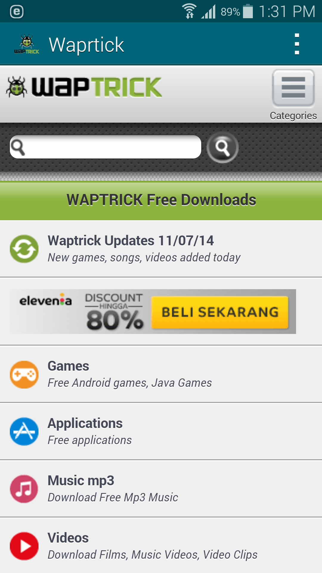 Amazon com: Waptrick: Appstore for Android