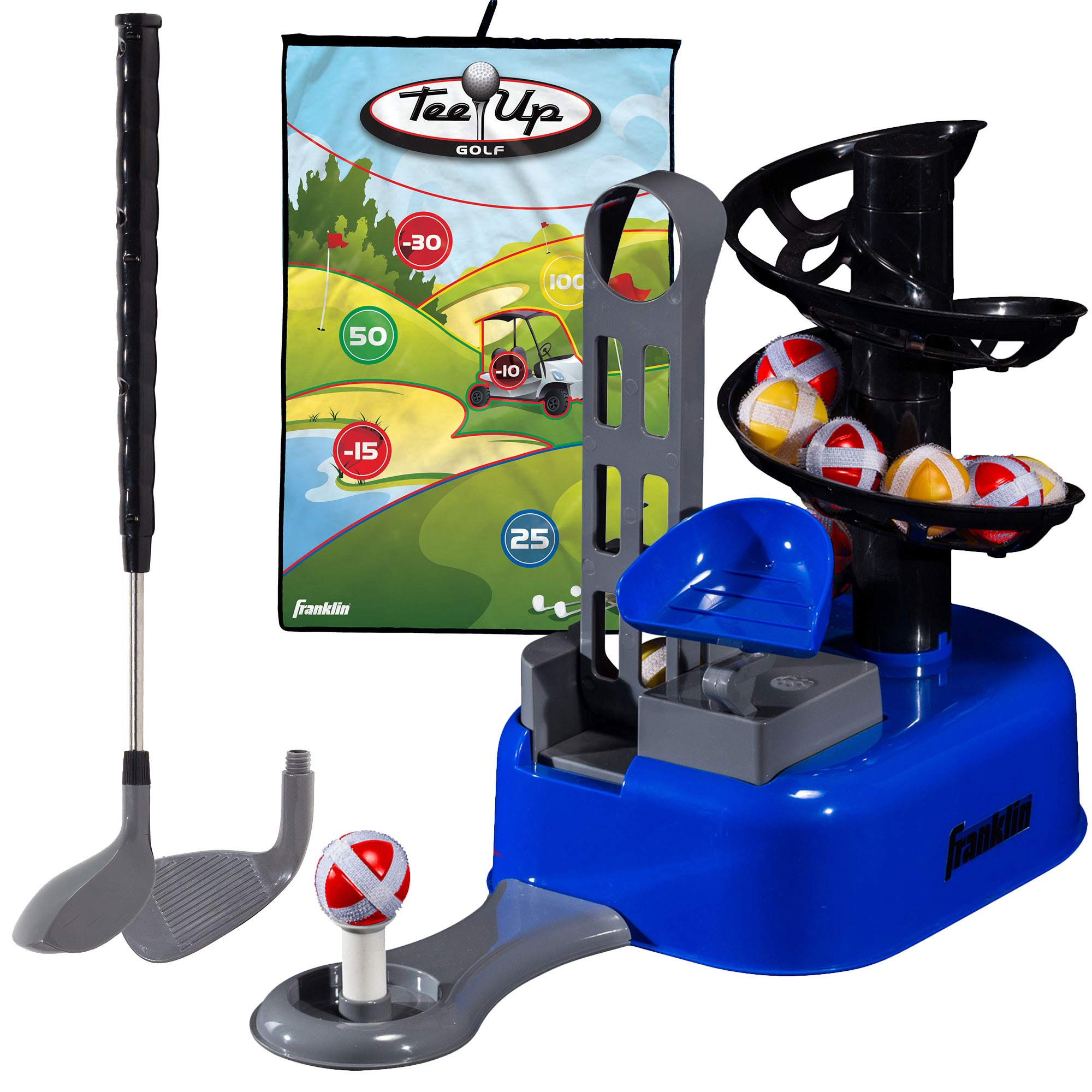 Franklin Sports Kids Golf Set - Tee Up Golf with Target Game by Franklin Sports