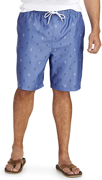 Essentials Mens Big /& Tall Long-Sleeve Quick-Dry UPF 50 Swim Tee fit by DXL