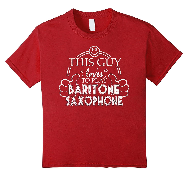 Amazon High School Marching Band Guy Baritone Saxophone Clothing