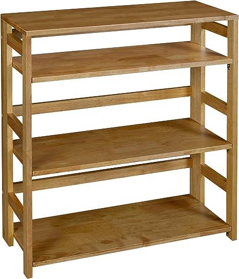 Amazon.com: Regency Flip Flop 34-inch High Folding Bookcase