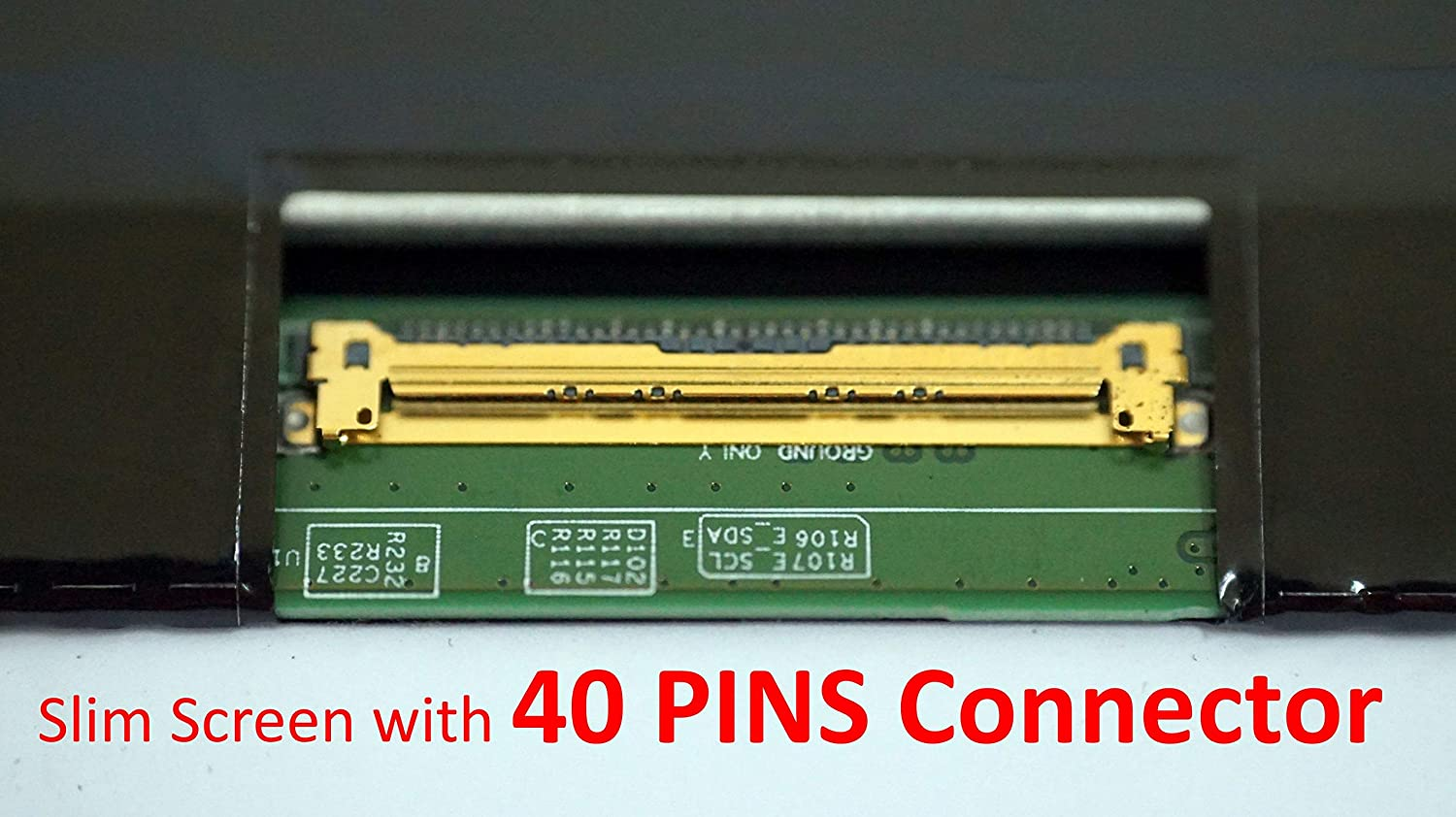 TOUCH Dell Inspiron 15-5558 Ltn156at40 Replacement LAPTOP LCD Screen 15.6 WXGA HD LED DIODE Substitute Only. Not a