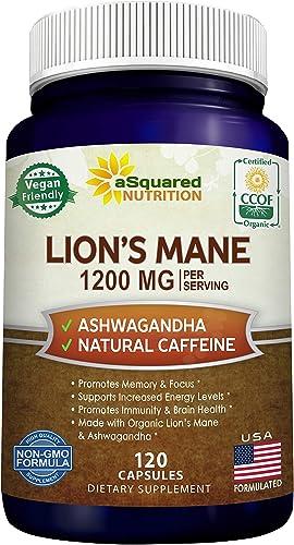 Lions Mane Mushroom Capsule