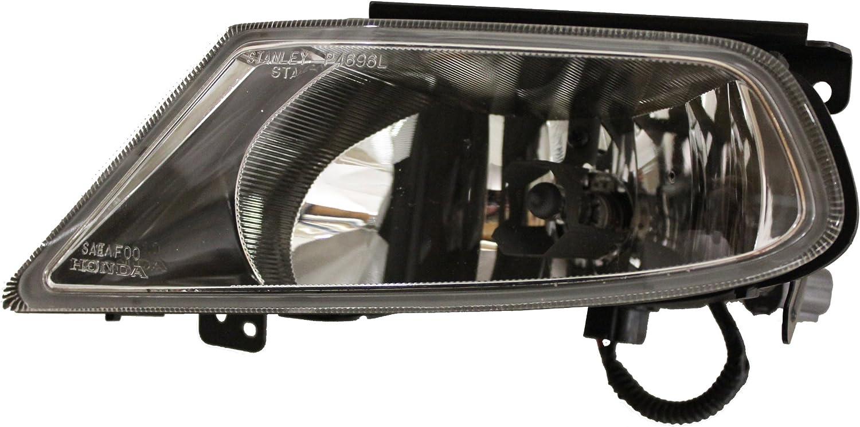 Genuine Honda Parts 08V31-S0X-1M0A2 Honda Odyssey Front Left Light Assembly