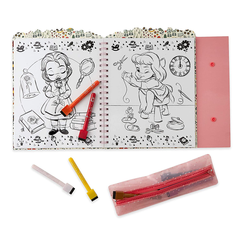 Disney Animators Collection Dry Erase Art Kit Amazon In Home Kitchen