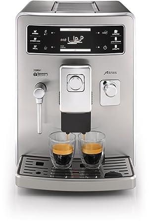 Saeco Xelsis HD8944/47 - Cafetera (Máquina espresso, 1,6 L, Granos de café, Molinillo integrado, 1500 W, Acero inoxidable): Amazon.es: Hogar