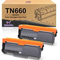 HaloFox Compatible Toner Cartridge Replacement for Brother TN660 TN630 DCP-2560DN MFC-L2707DW MFC-L2700DW HL-L2380DW DCP…