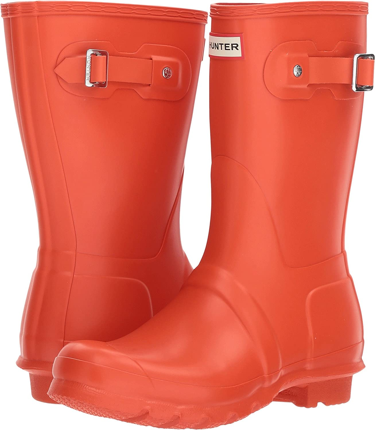 Hunter Women's Original Short Rain Boot B076MBFFQ2 10 B(M) US|Orange