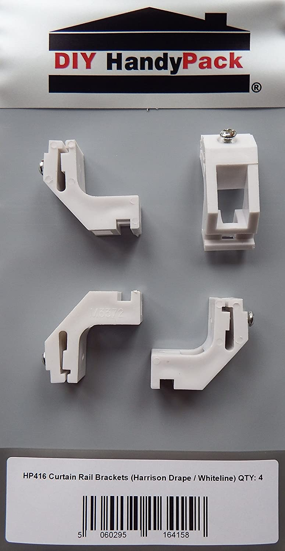 ultraglyde brackets x 2 SWISH curtain track brackets