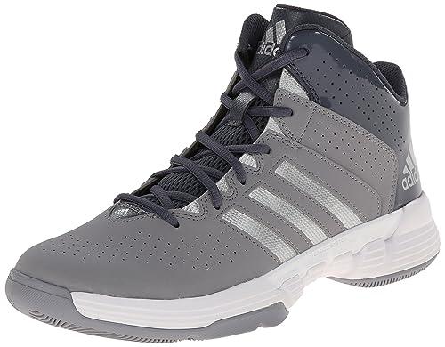 brand new 7fbc0 be122 adidas Performance Men s Cross  Em 3 Basketball Shoe, Onix Metallic Silver