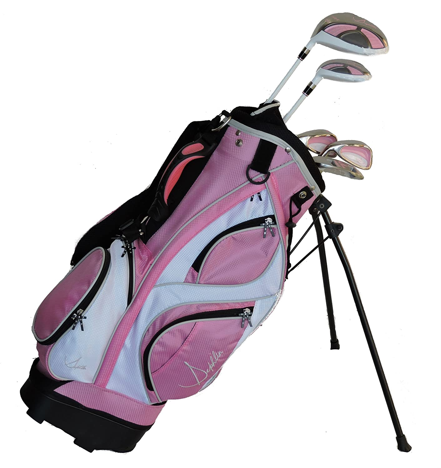 sephlin - Lady Jayde rosa niñas Golf Club Set y bolsa de ...
