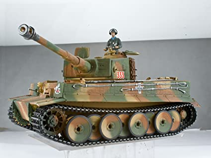 Taigen Tanks Tiger 1 Mid Version Metal Edition 1/16th Scale 2 4GHz RTR RC  Tank
