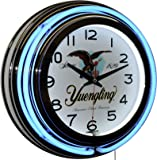 Yuengling America's Oldest Brewery Since 1829 Beer Logo Blue Double Neon Wall Clock