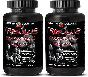Amazon.com: Testosterone Booster Estrogen Blocker - Muscle Strength - TRIBULUS TERRESTRIS