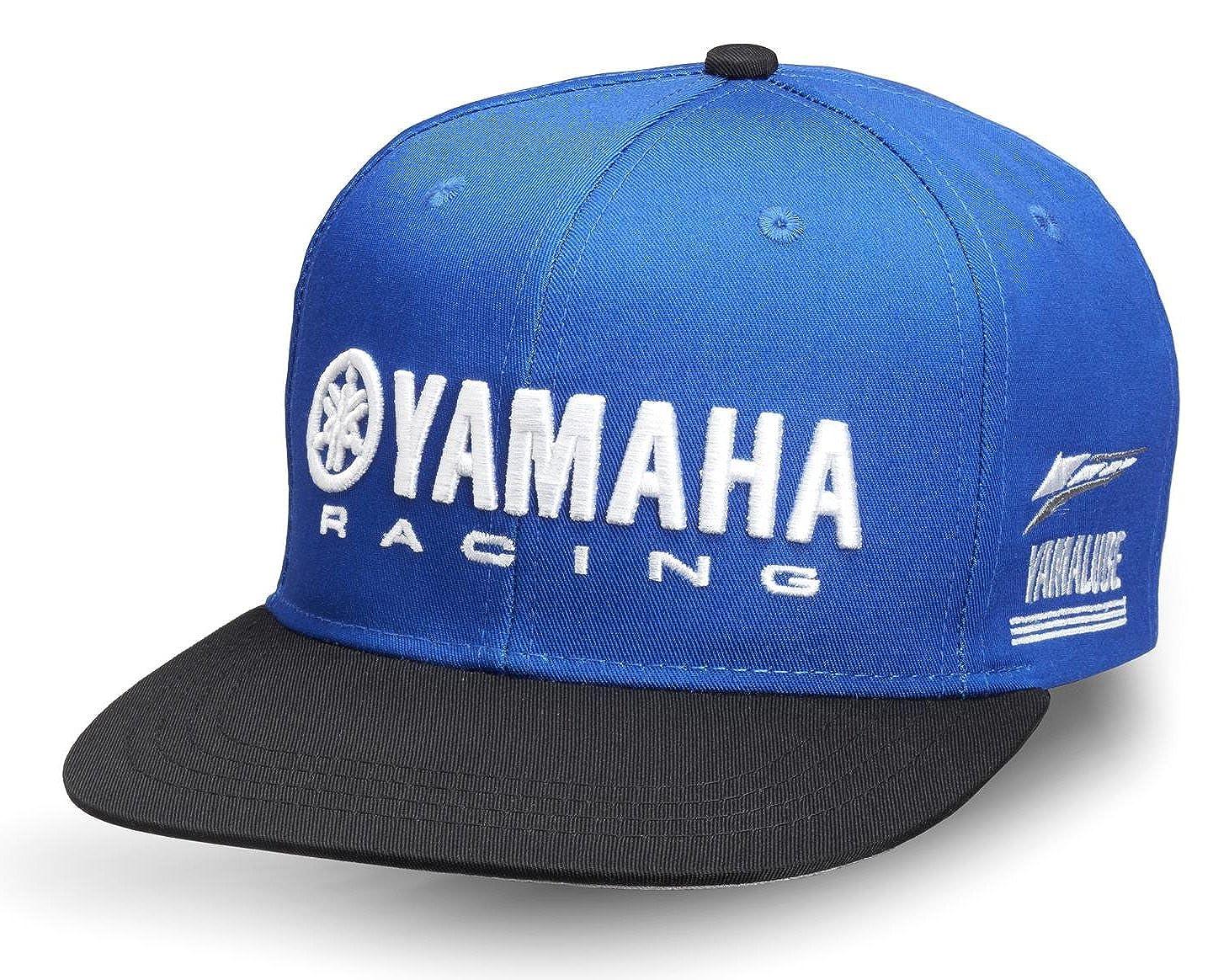 Yamaha - Visera - para hombre Azul azul Talla única: Amazon ...