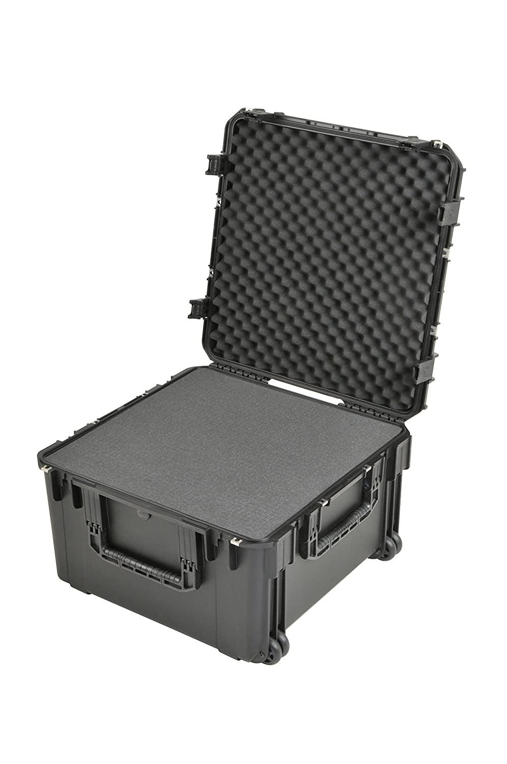 SKB 3i-2424-14BC iSeries Waterproof Case 24 x 24 x 14 with wheels cubed foam