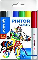 """PILOT PINTOR F - 6er Set """"Classic"""""""