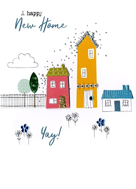 Amazon happy new home yay irresistible greeting card happy new home yay irresistible greeting card embellished cards m4hsunfo
