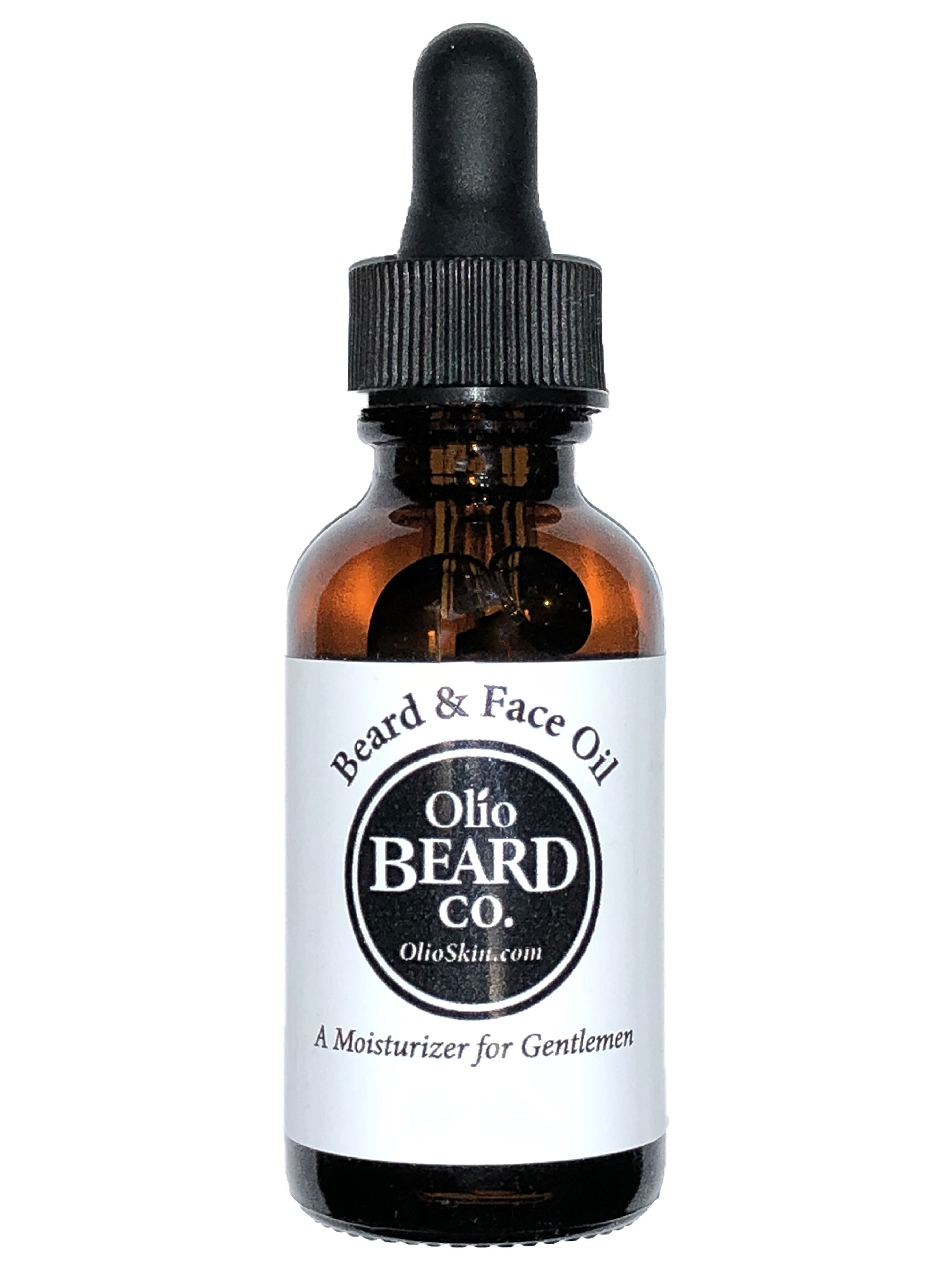 Olio Beard & Face Oil: Hydration for Strong, Heathy Beards and Soft Skin w/ Acne Prevention (2oz, Bay Rum)