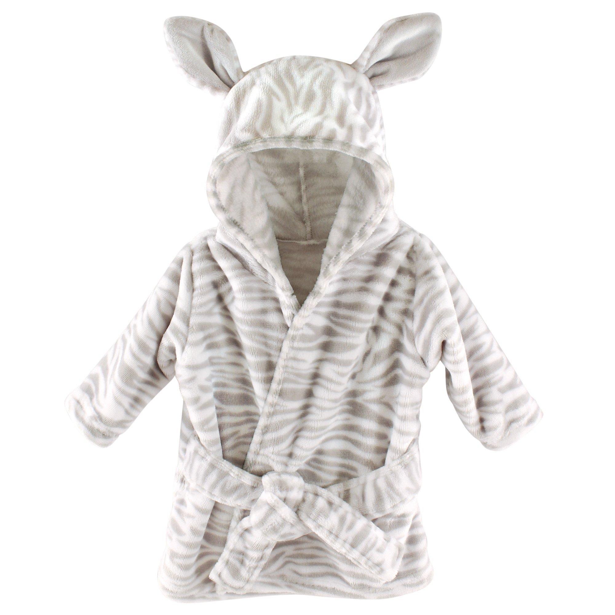 Amazon Com Hudson Baby Plush Hooded Blanket Zebra Baby