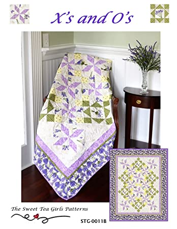 Amazon Com X S And O S Quilt Pattern Stg 0011b 2 Sizes