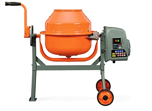 YARDMAX YM0046 1.6 Cu. Ft. Concrete Mixer