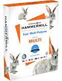 Hammermill Paper, Fore Multipurpose Paper, 8.5 x 11 Paper, Letter Size, 24lb Paper, 96 Bright, 1 Ream / 500 Sheets (103283R) Acid Free Paper