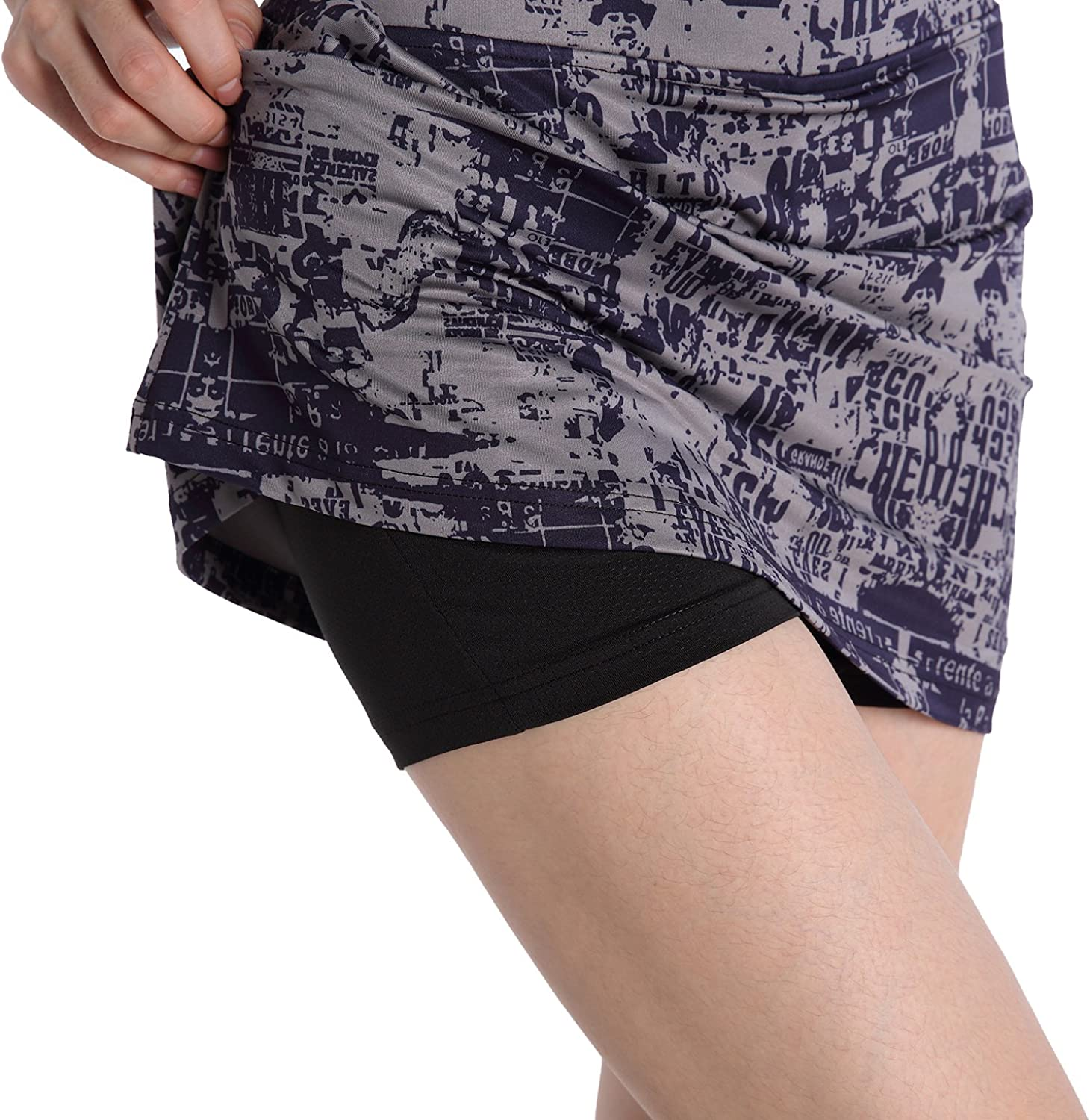 EAST HONG Women's Golf Skort Tennis Running Workout Skort