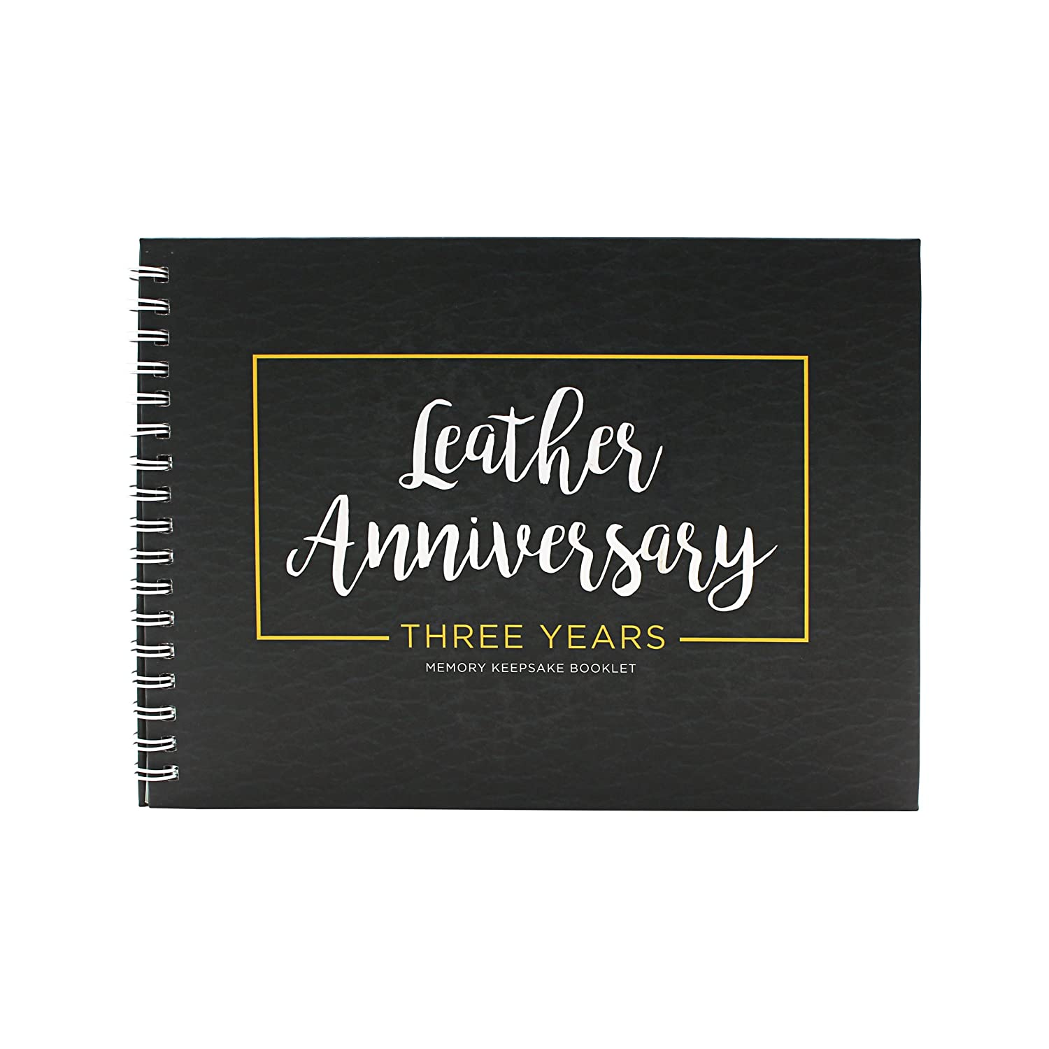 Unique 4th Wedding Anniversary Memory Book With Stickers And A Matching Card - 5-second Memory Journal For Your Special Fruits& flowers Anniversary - The Perfect Keepsake Booklet For Special Memories Unconditional Rosie