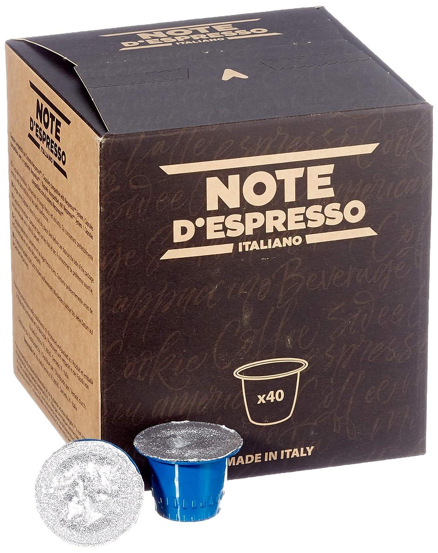 Note DEspresso - Cápsulas de té al limón, 8 g (caja de 40 ...