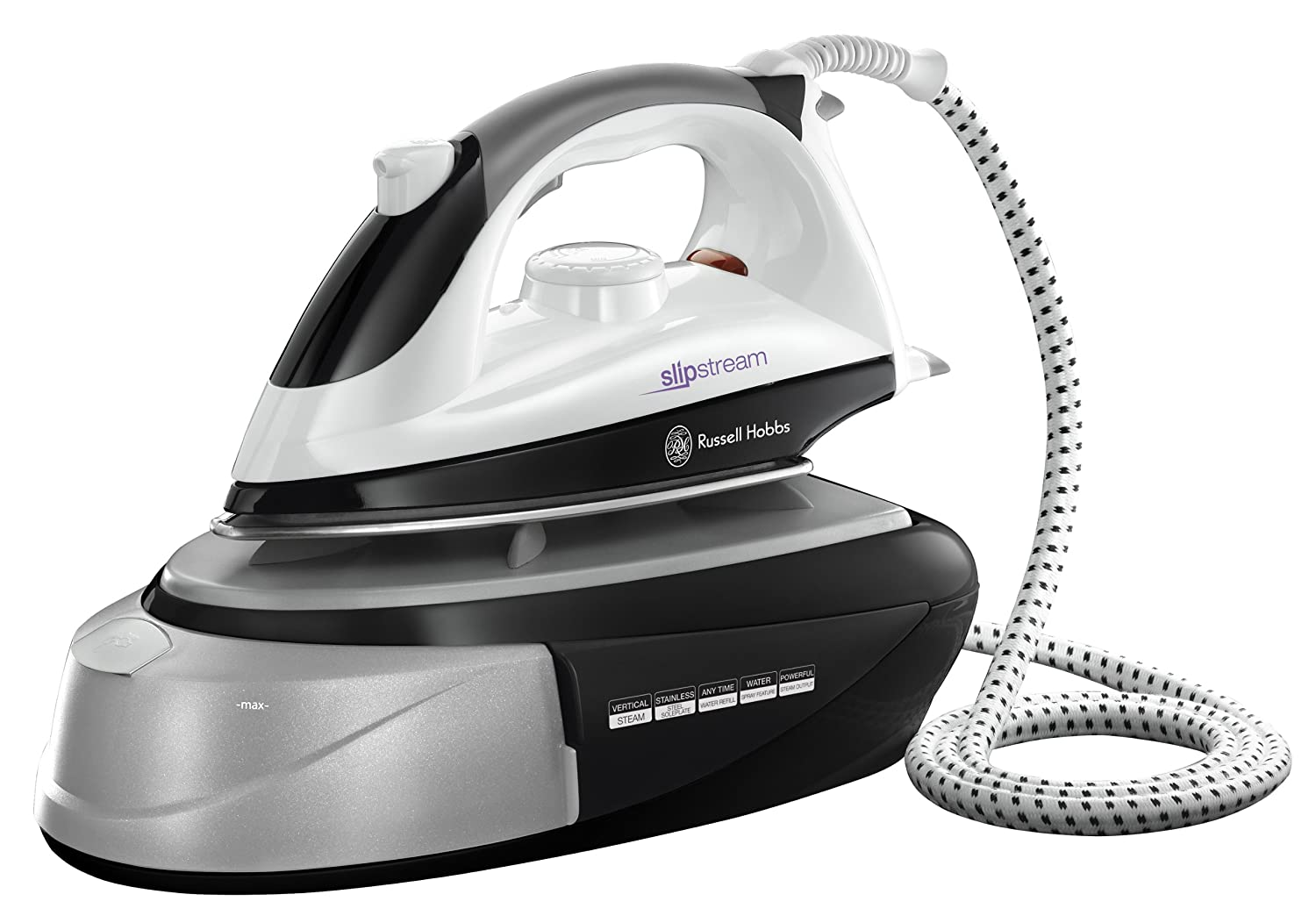 Russell Hobbs Slipstream Station Iron 14863, 1800 W - Black and ...