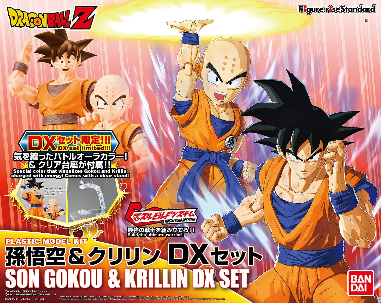 BANDAI Model Kit – 56635 Figure Rise Son Goku y Krillin Juego ...