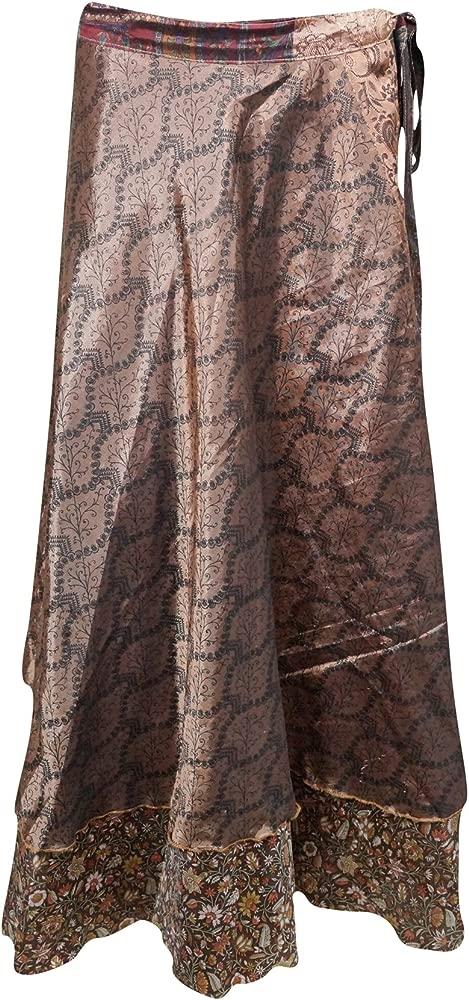 Mogul Interior - Falda - Envolvente - para Mujer marrón Brown 1 ...
