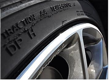 StickandShine - Pegatina para llanta de coche o moto (ruedas de 10-24 pulgadas): Amazon.es: Coche y moto