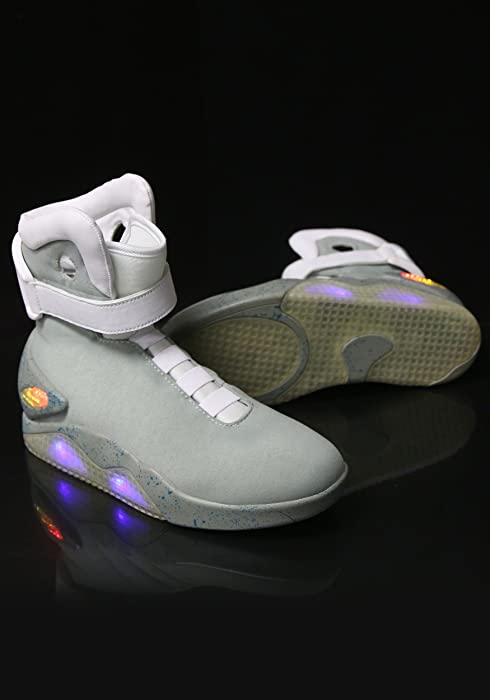 1a07c51e5d244 Fun Costumes Back to the Future 2 Light Up Movie Shoes
