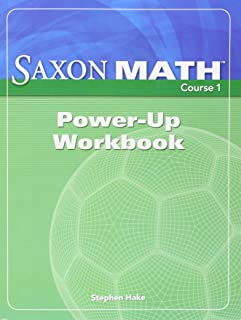 saxon math course 1 solution manual grade 6 2007 various rh amazon com Saxon Math Course 1 8 7 Saxon Math Course 1 8 7