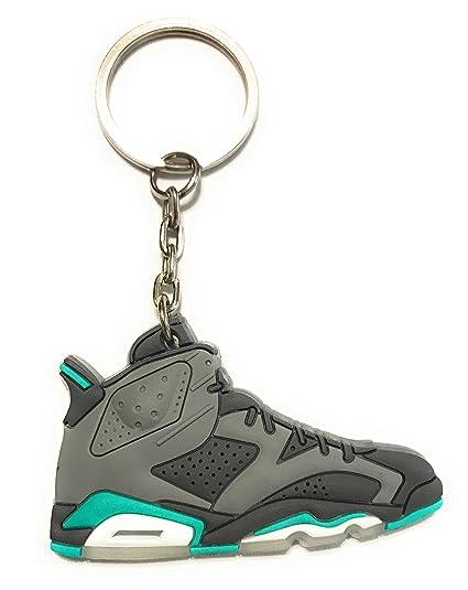 WeTheFounders Zapatos Sneaker Llavero AJ-6 Retro, Gris ...