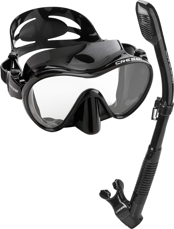 Cressi Buceo Snorkel Gafas m/áscara Snorkel Set