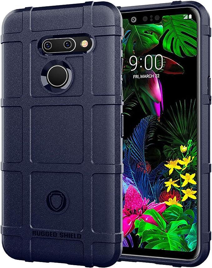 JS Funda para LG G8 ThinQ LM-G82 Funda Silicone Carcasa Case Cover ...