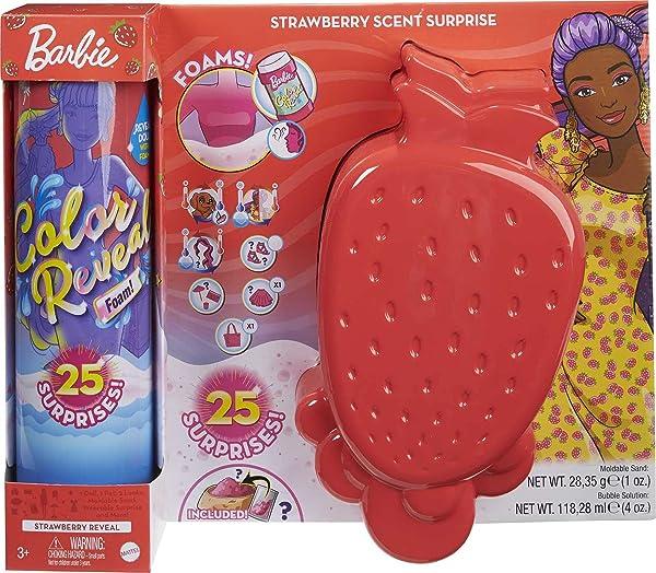 Barbie Color Reveal Foam Doll