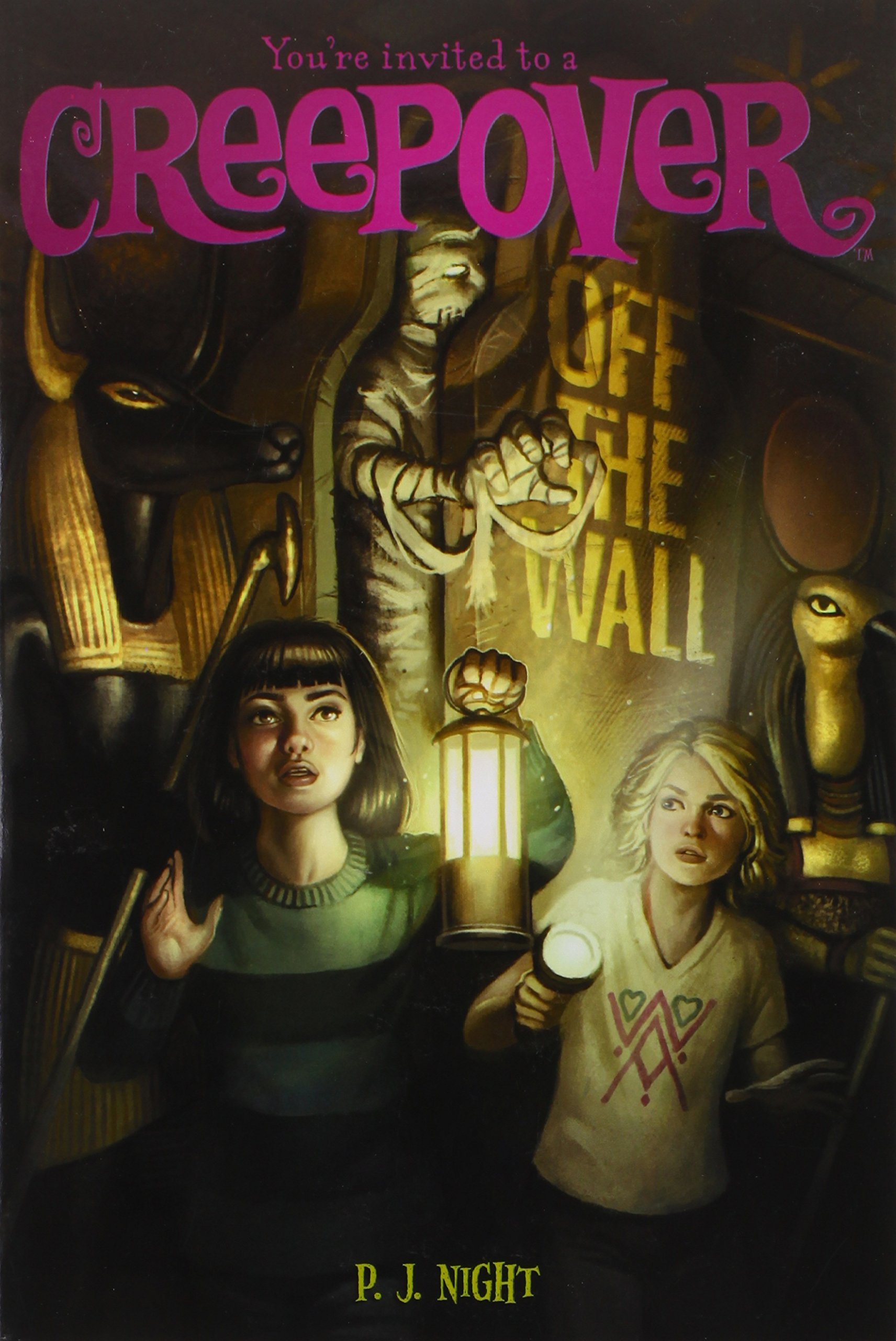 Read Online Off the Wall (You're invited to a Creepover) pdf epub