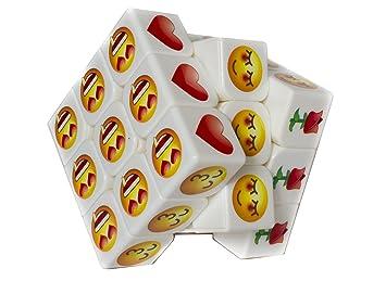 Cubo de Rubik Mágico 3x3 Blanco Stickerless Sin Pegatinas ...